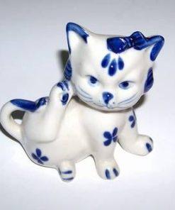 Pisica norocoasa din ceramica
