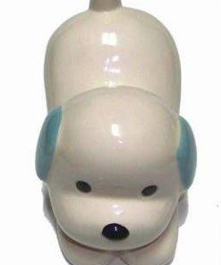 Pusculita din ceramica in forma de Caine