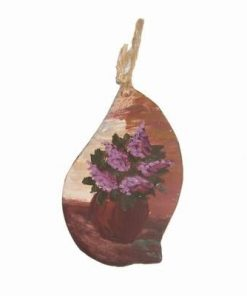 Minitablou din ceramica cu liliecii norocosi