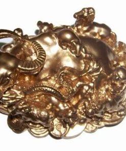 Bivolul prosperitatii auriu cu cele 12 zodii