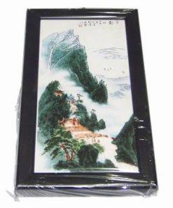 Tablou Feng Shui cu muntele si apa