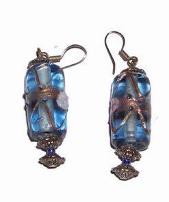 Cercei din sticla de murano vintage