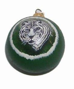 Glob din sticla pictat manual cu zodia tigru