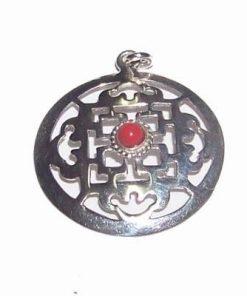 Mandala bogatiei din argint 925