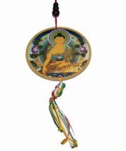 Canaf cu Buddha al meditatiei si dorje