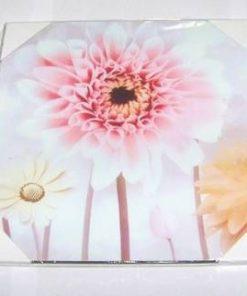 Tablou din lemn cu florile succesului profesional
