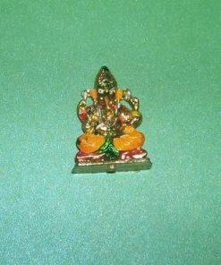 Ministatueta cu Ganesha aurie