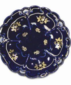 Farfurie decorativa din cobalt