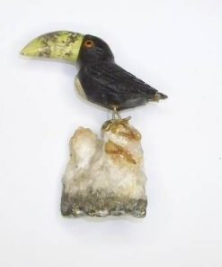 Papagalul tucan din onix si jad