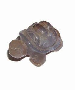 Broasca testoasa cu cristal natural de agat