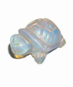 Broasca testoasa cu cristal natural de opal