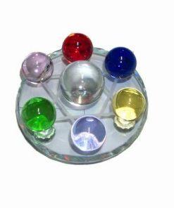 Grila cu 7 cristale pentru 7 chakre