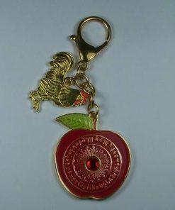 Amuleta Feng Shui cu marul armoniei si Cocos auriu
