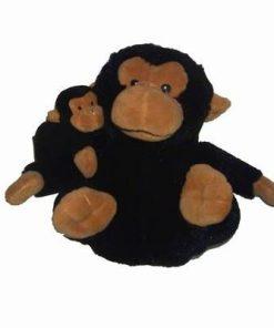 Maimuta cu pui din plus