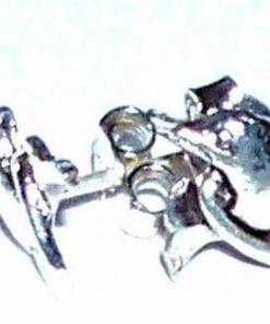 Cercei din argint 925 cu delfinii dragostei