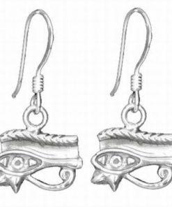 Cercei din argint 925 cu Ochiul lui Horus