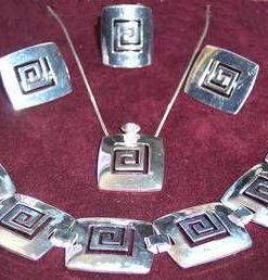 Set Feng Shui din argint cu Simbolul Sanatatii - unicat !