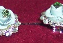 Cercei din argint pentru elementul Lemn - remediu Feng Shui