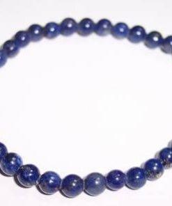 Bratara din lapis lazuli, pe elastic, pentru protectie divin