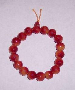 Bratara Mala - remediu Feng Shui, cuart cherry