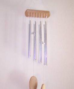 Clopotel de vant - cu 8 tuburi pline remediu Feng Shui