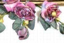 Buchet de 5 trandafiri-visinii