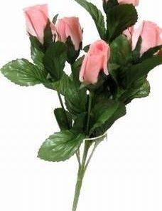 Buchet de 7 trandafiri roz - remediu Feng Shui