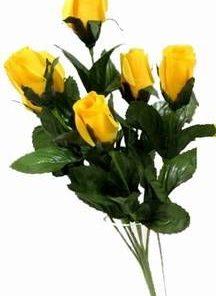 Buchet de 7 trandafiri galbeni - remediu Feng Shui
