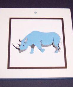 Rinocerul albastru - remediu Feng Shui