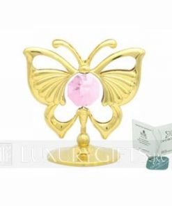 Fluturele eliberarii si evolutiei, placat cu aur