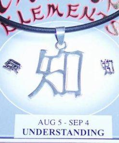 Set Feng Shui din argint cu Ideograma Intelegerii