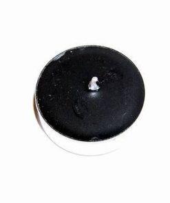 Lumanare neagra parfumata tip pastila 100%neagra