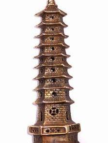Pagoda din metal cu 9 nivele din metal