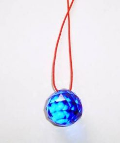 Cristal Feng Shui - multifatetat - albastru