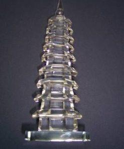 Pagoda celor 7 Elemente din cristal si oglinda