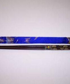 Betisoare chinezesti cu simbolul longevitatii si saculet pen