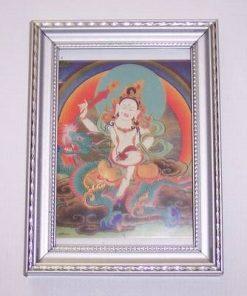 Mantra White Jambhala - Buddha Bunastarii