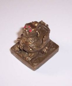 Pi Yao inaripat din metal pe monede