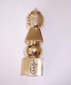 Pagoda celor cinci elemente din metal