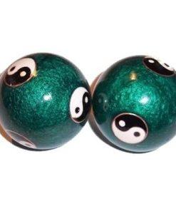 Bile manuale chinezesti de culoare verde