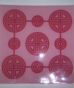Platou Feng Shui cu ideograma sanatatii si longevitatii