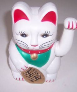 Pisica Maneki Neko - remediu Feng Shui