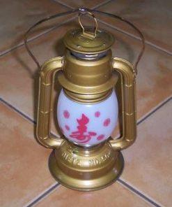Lampadar Feng Shui cu ideograme norocoase - unicat !