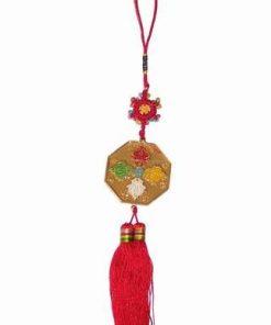 Amuleta de protectie cu dorje si cele 5 elemente