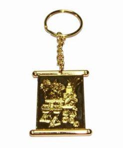Brelocul cu amuleta educationala Wen Chang