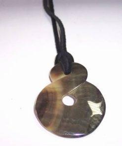 Talisman feng Shui din scoica marina cu cifra opt - deosebit