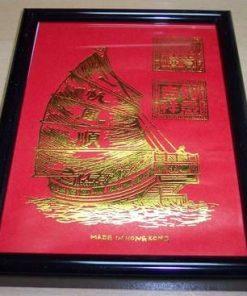 Tablou Feng Shui cu Corabia Abundentei -