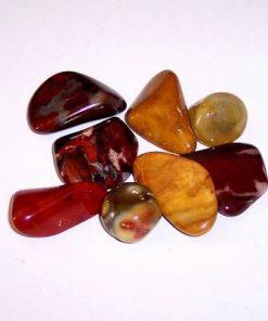 CENTRU - Set de 8 cristale din Jasp