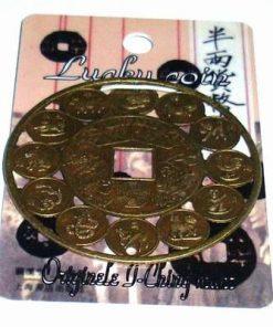 Moneda Feng Shui cu cele 12 zodii