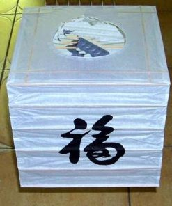 Lampadar Feng Shui cu Simbolul Norocului - unicat!
